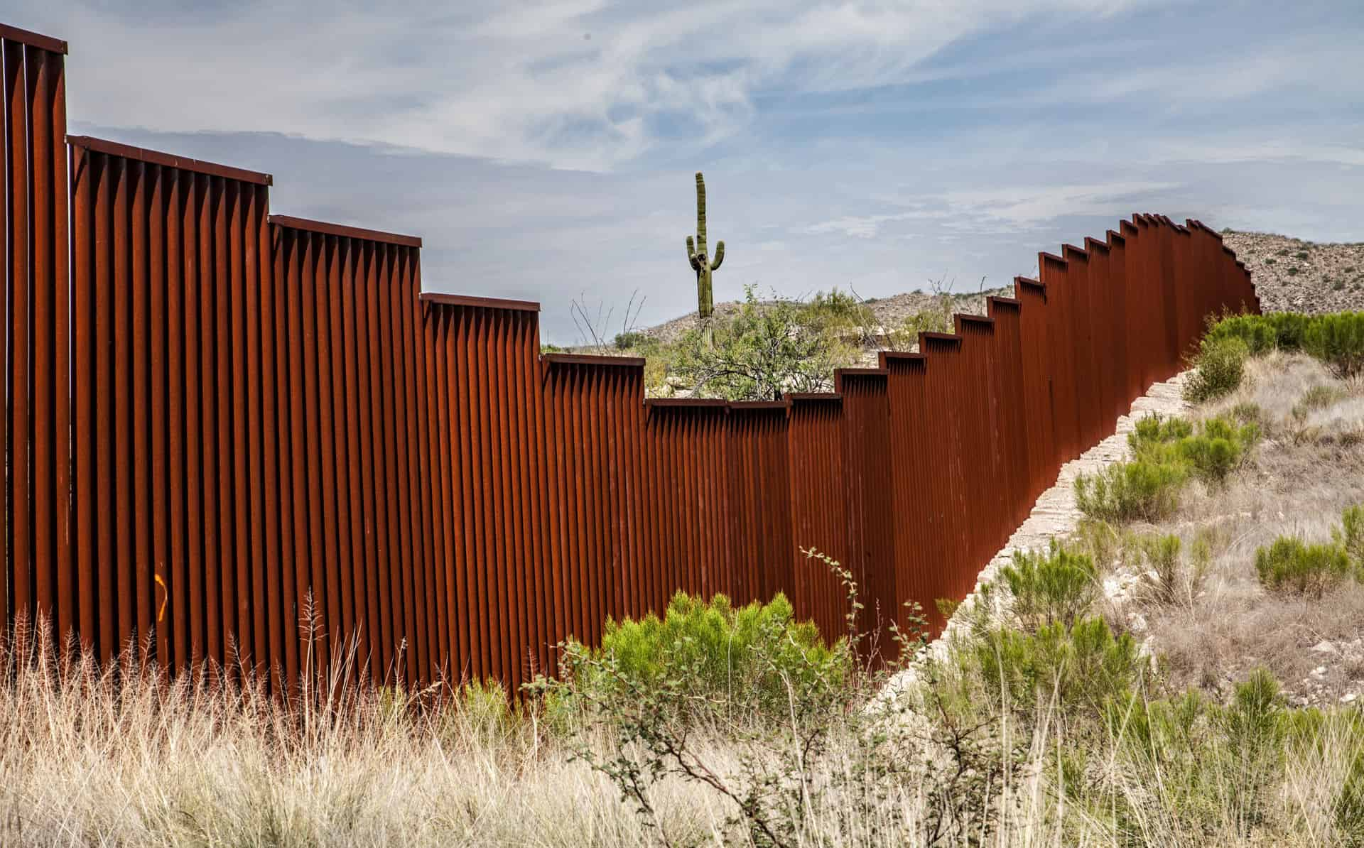 Mexican American Border Wall