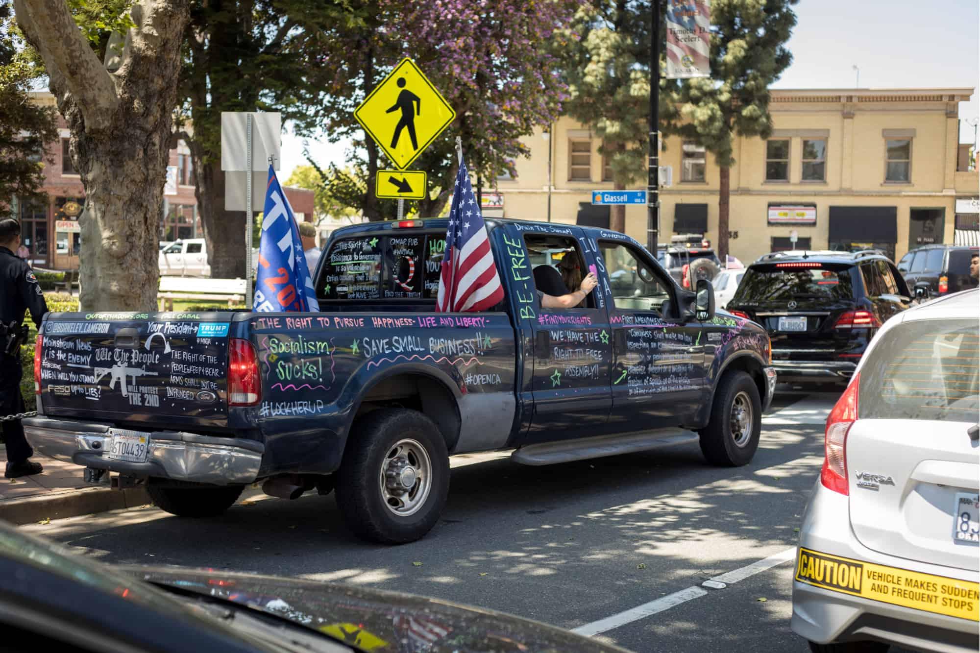 Protest Trucks