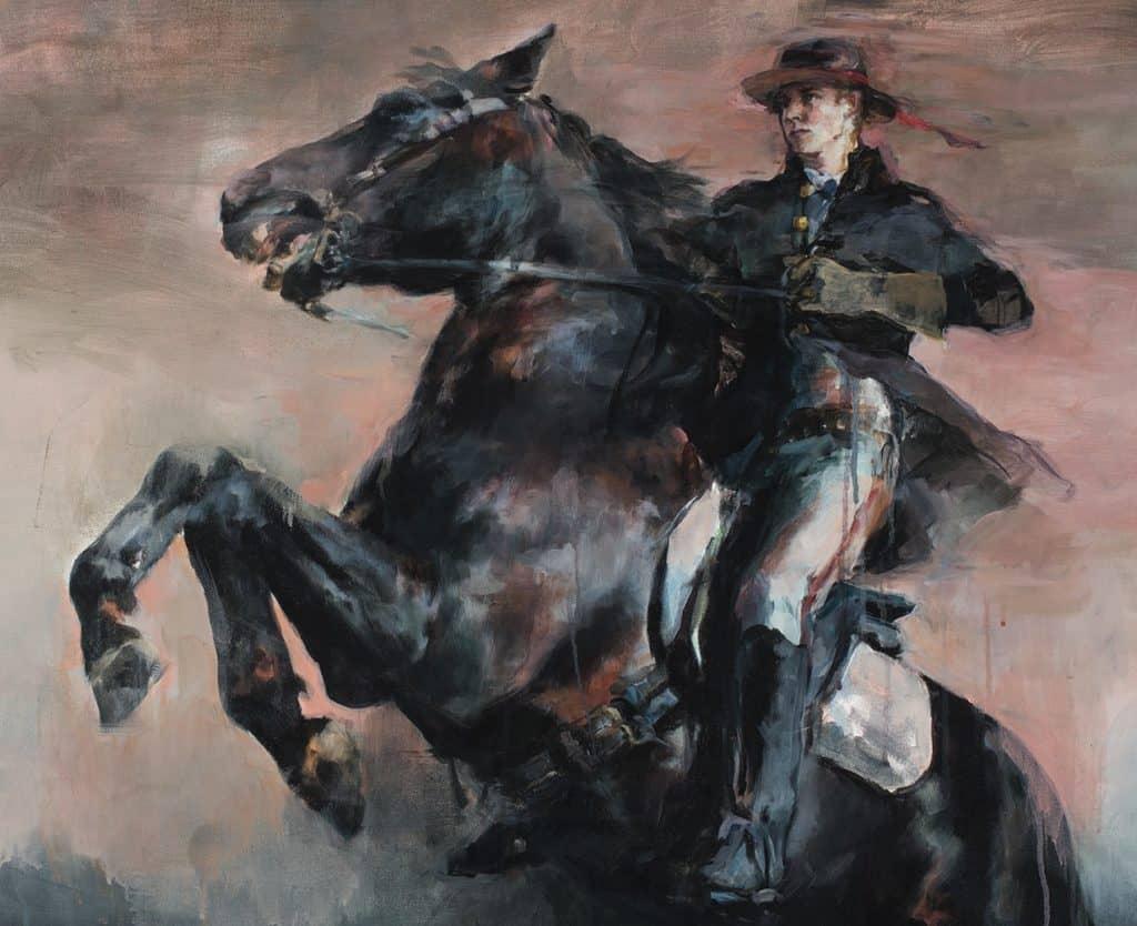 John Pelham on horse