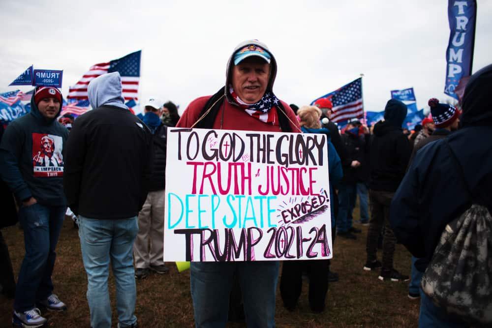 Deep State Protestor