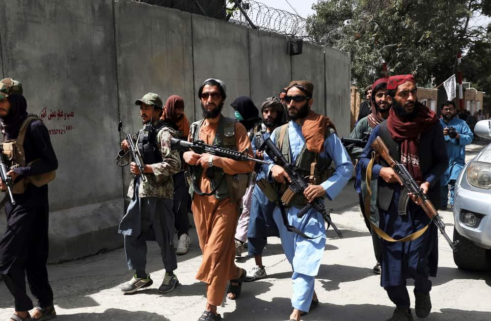 Taliban in Afghanistan in August 2021