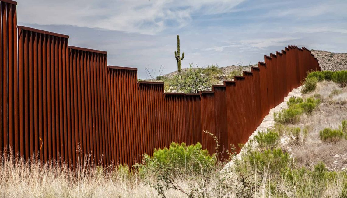 Mexican American Border Wall
