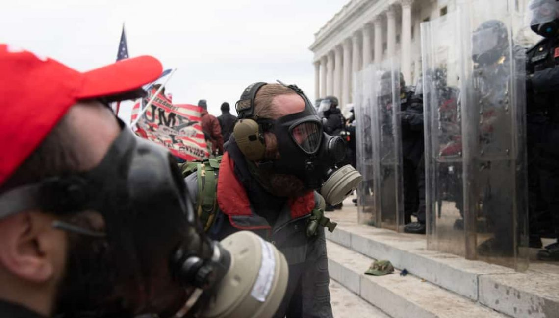 DC Protestors at Capitol on January 6th