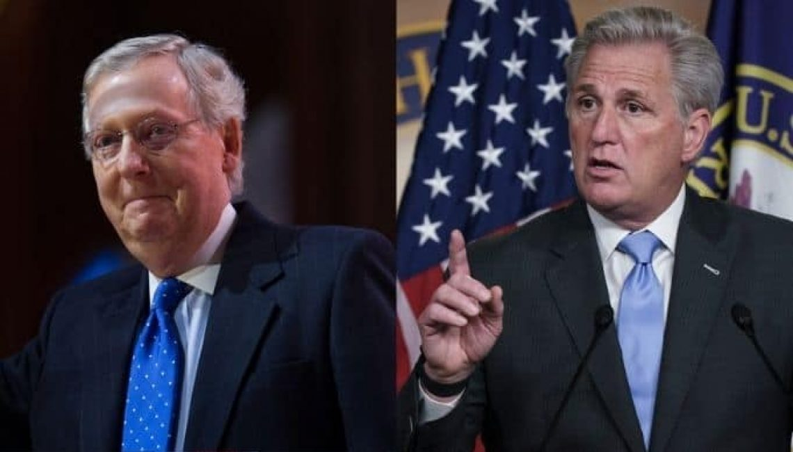 Mitch McConnell and Kevin McCarthy