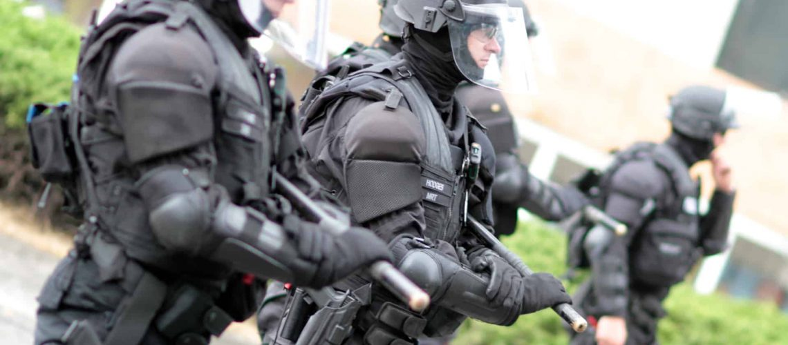 Federal agents in Portland