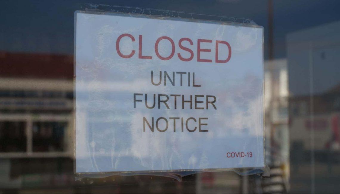 Shop Closed due to Coronavirus