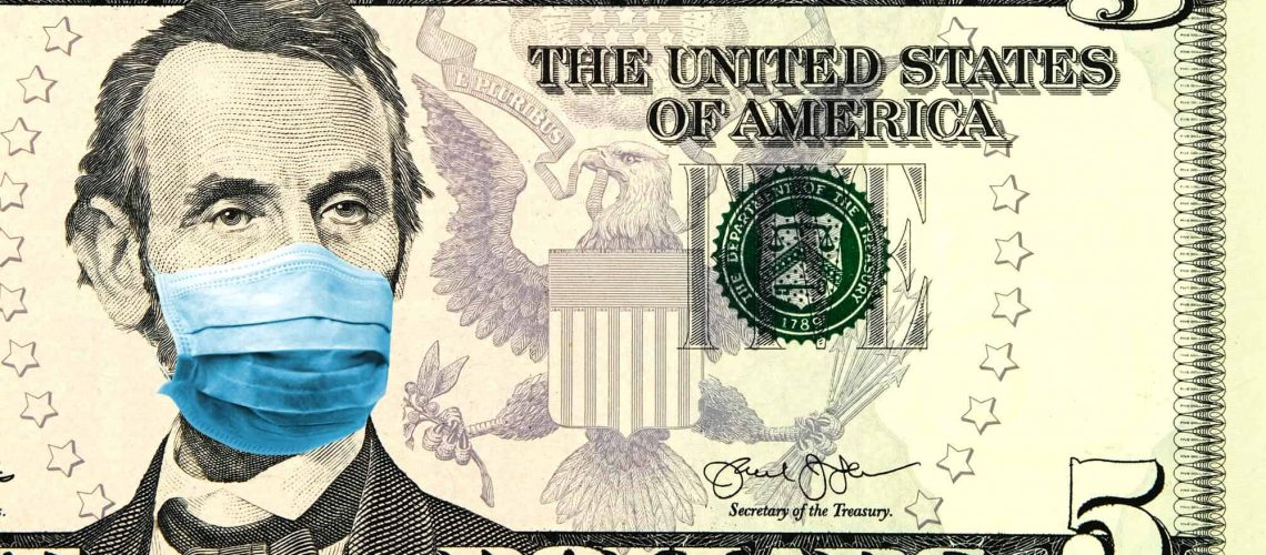Lincoln with a Face Mask