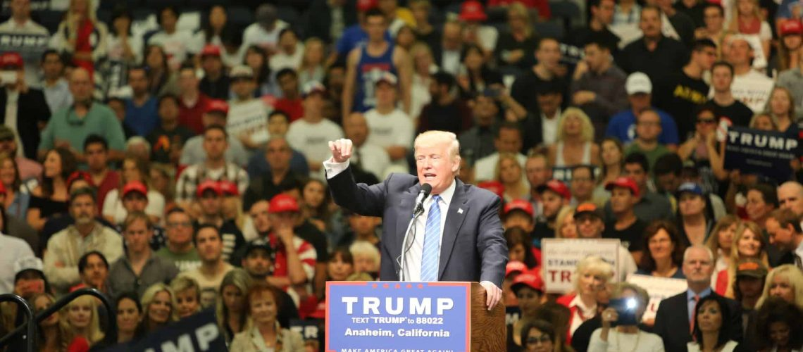 Donald Trump at Presidential 2016 Convention