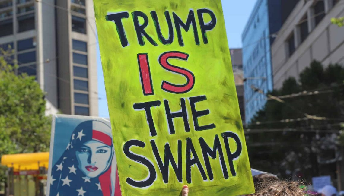 Trump is the Swamp